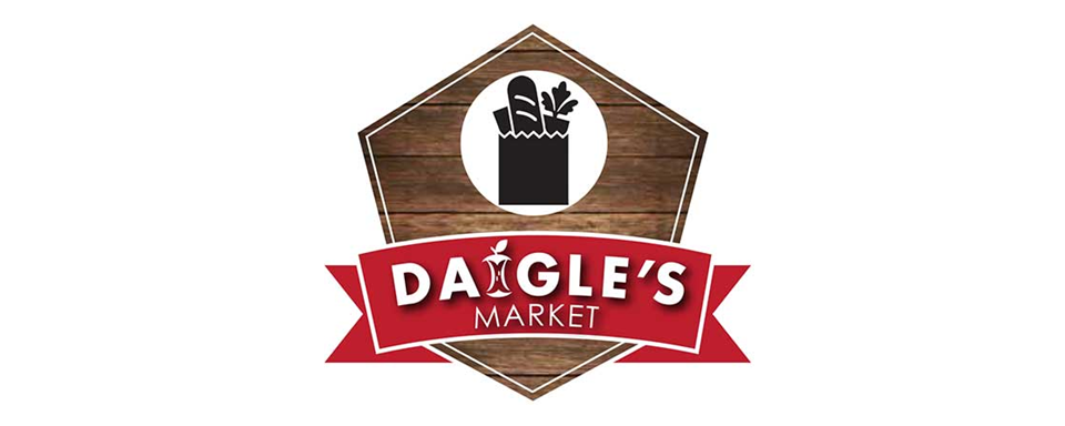 Daigle's Market logo - in 5x2 Frame