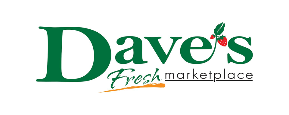 Dave's Fresh Marketplace logo - in 5x2 Frame