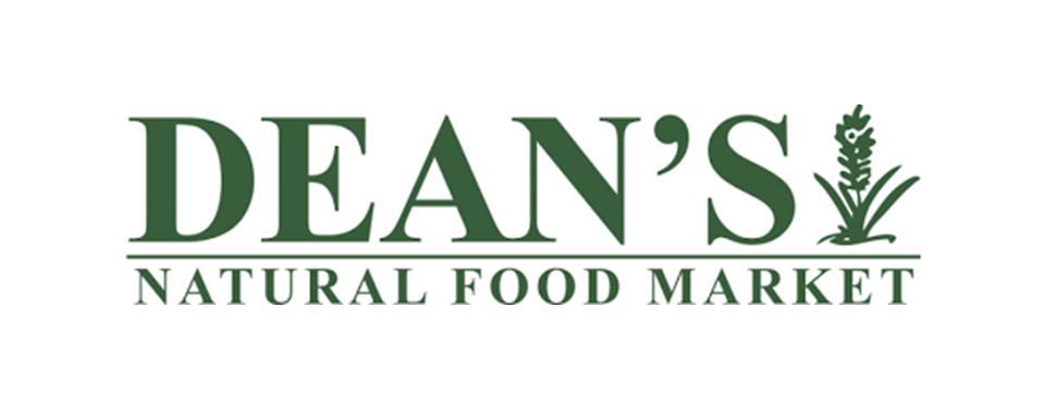 Dean's Natural Foods Market logo - in 5x2 Frame