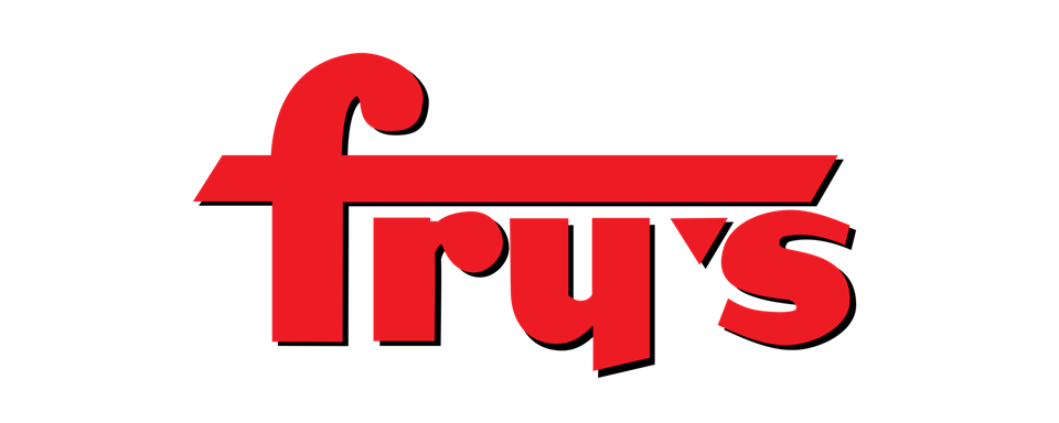 Frys Food Stores (Kroger subsidiary) logo - in 5x2 Frame