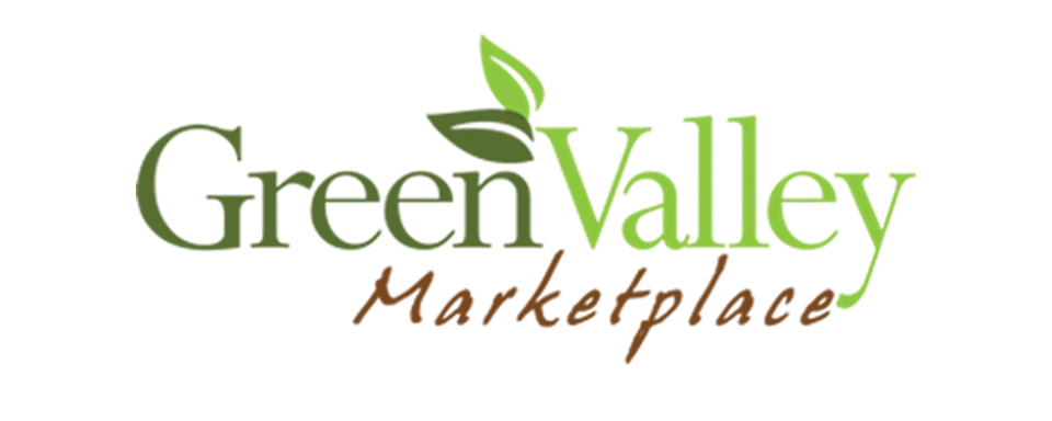 Green Valley Marketplace logo - in 5x2 Frame