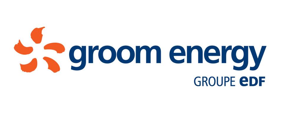 Groom Energy Groupe eDF logo - in 5x2 Frame