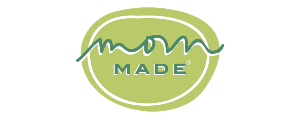 Mom Made Foods logo - in 5x2 Frame