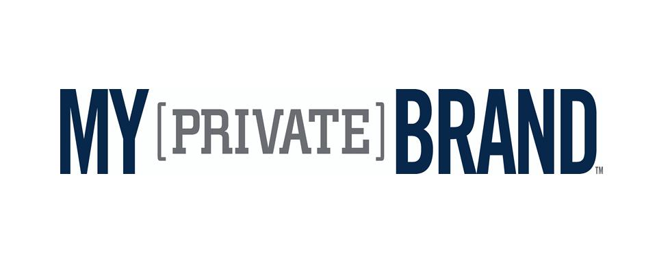 My Private Brand logo - in 5x2 Frame