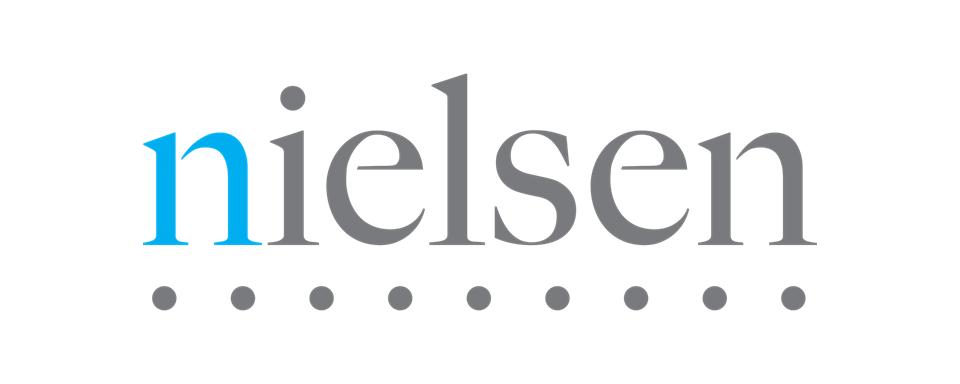 Nielsen logo - in 5x2 Frame