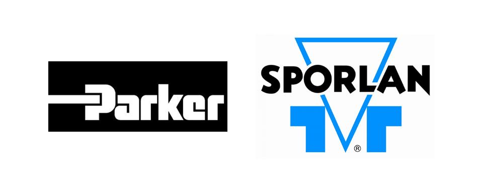 Parker Sporlan logo - in 5x2 Frame