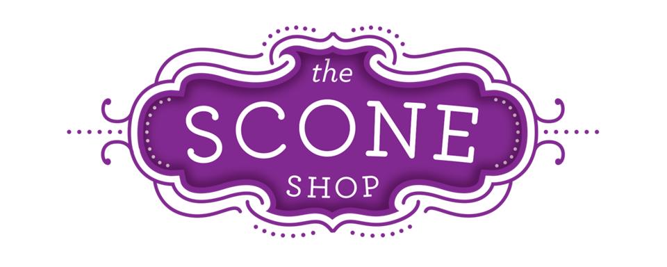 Scone Shop logo - in 5x2 Frame