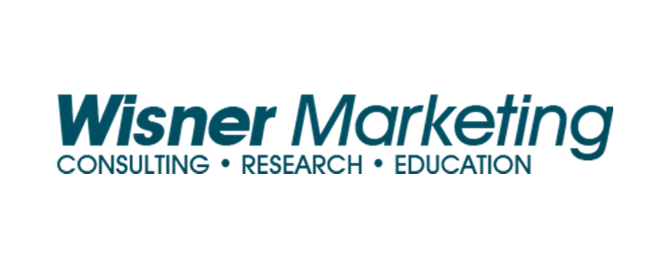 Wisner Marketing logo - in 5x2 Frame