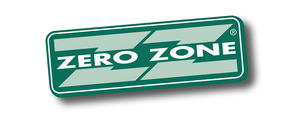 Zero Zone logo - in 5x2 Frame