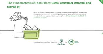 Food Price Web Experience