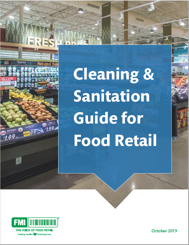 Cleaning and Sanitation Guide 2019 cover image
