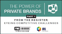 Power of private brands from the register 2018