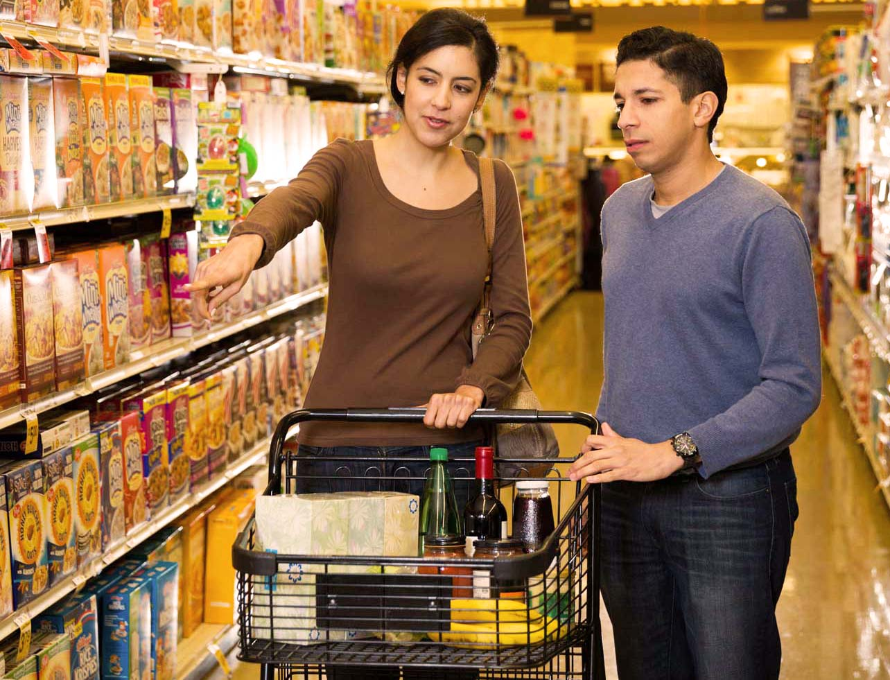 Grocery Shoppers and Transparency
