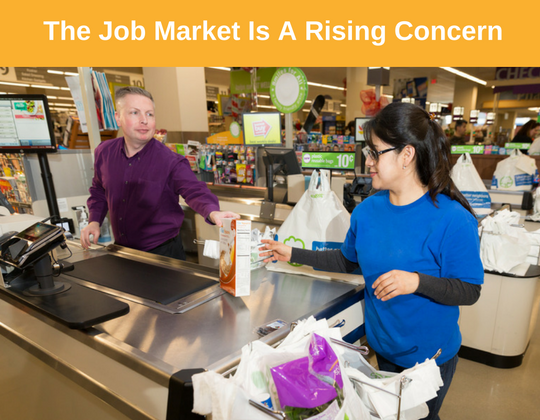 Job Market Is a Rising Concern