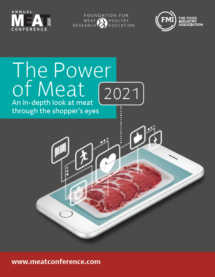Power of Meat 2021 cover