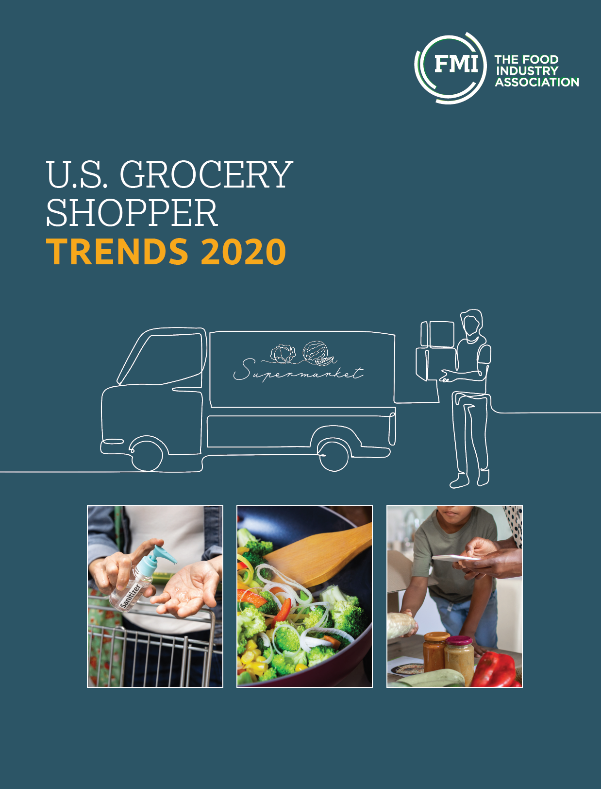 U. S. Grocery Shopper Trends 2020 cover