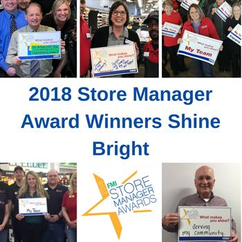 2018 Store Manager Award Winners