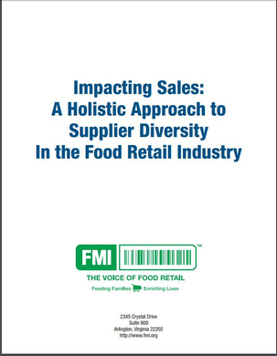 Impacting Sales: A Holistic Approach to Supplier Diversity in the Food Retail Industry
