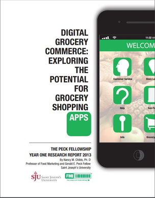 Digital Grocery Commerce: Exploring the Potential for Grocery Shopping Apps