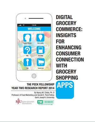 Digital Grocery Commerce: Insights For Enhancing Consumer Connection with Grocery Shopping Apps