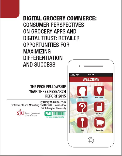 Digital Grocery Commerce: Consumer Perspectives on Grocery Apps and Digital Trust