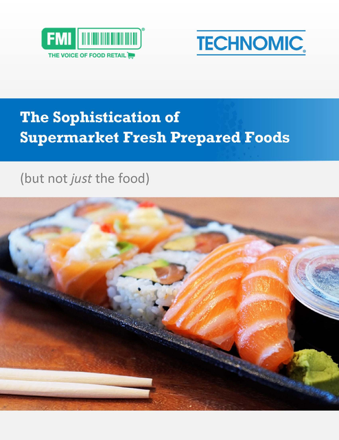 Sophistication of Supermarket Fresh Prepared Foods cover