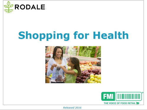 Shopping For Health 2016 Cover