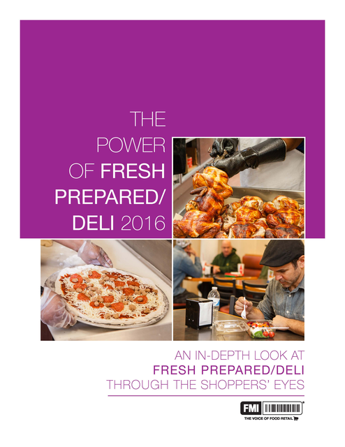 Power of Fresh Prepared/Deli 2016 cover