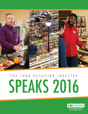 Food Retailing Industry Speaks 2016 cover