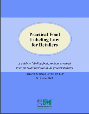 Food Labeling Law for Retailers 2011